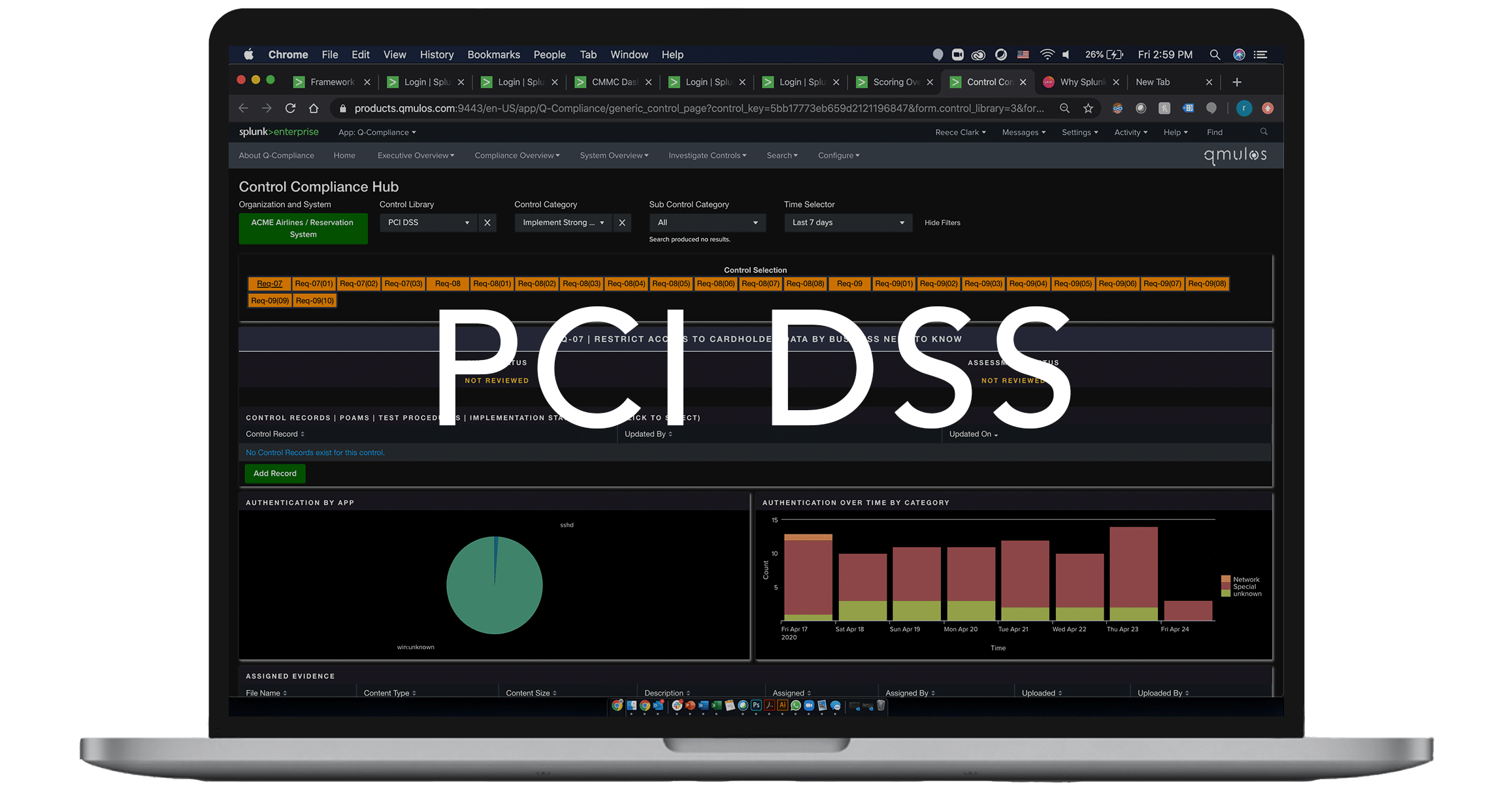PCI DSS Controls on Q-Compliance
